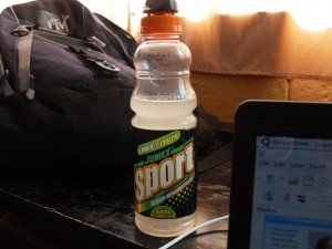 Despues de xela habia que rehidratarse (con bebidas de contrabando mexicanas)
