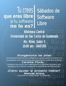 Sexto Sabado de Software Libre